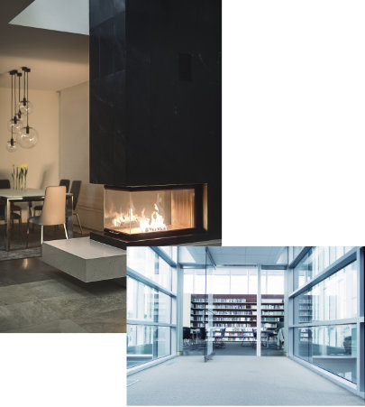FireLite Ceramic Fire Protective Glazing Products